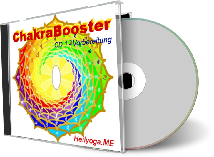 ChakraBooster CD1 Vorbereitung - Heilyoga.ME
