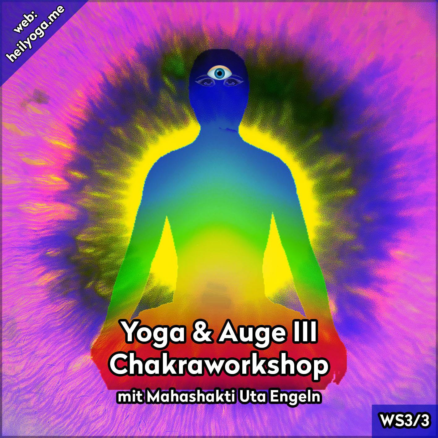 Yoga & Augen III – Chakra-Yoga (MP3)