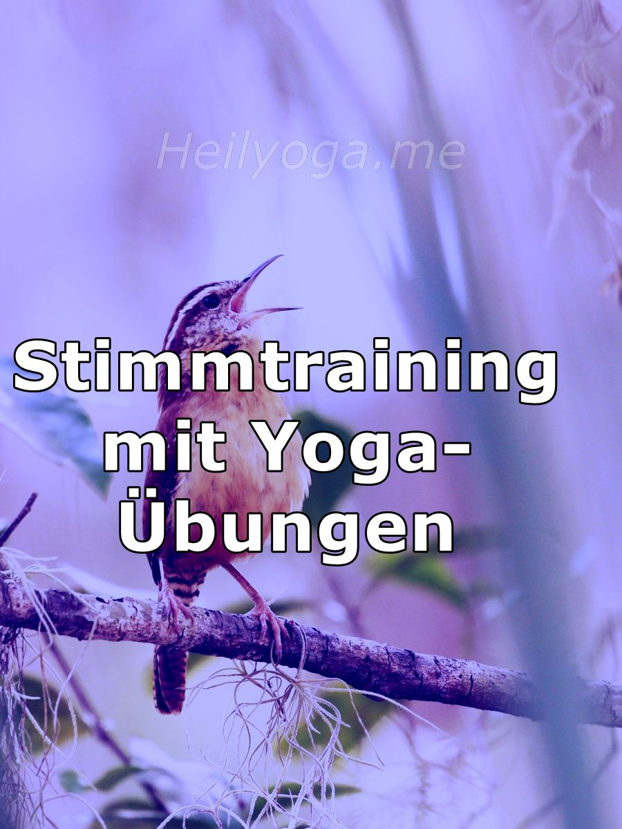 Stimmtraining mit Yoga-Übungen