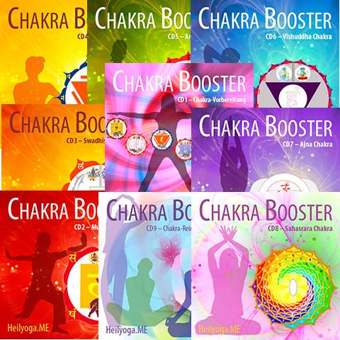 Chakren heilen mit dem ChakraBooster (PDF+MP3)