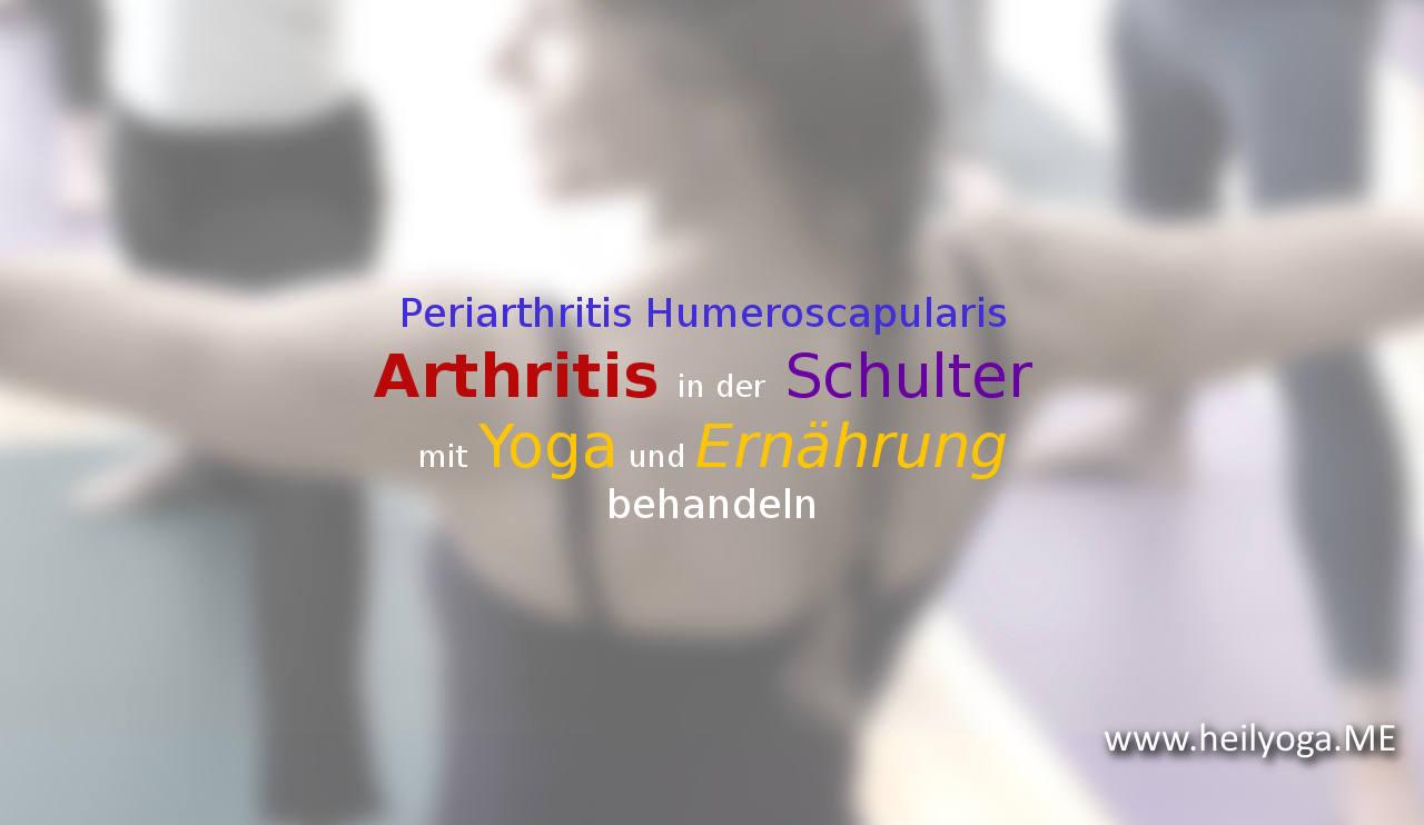Yoga bei Periarthritis Humeroscapularis