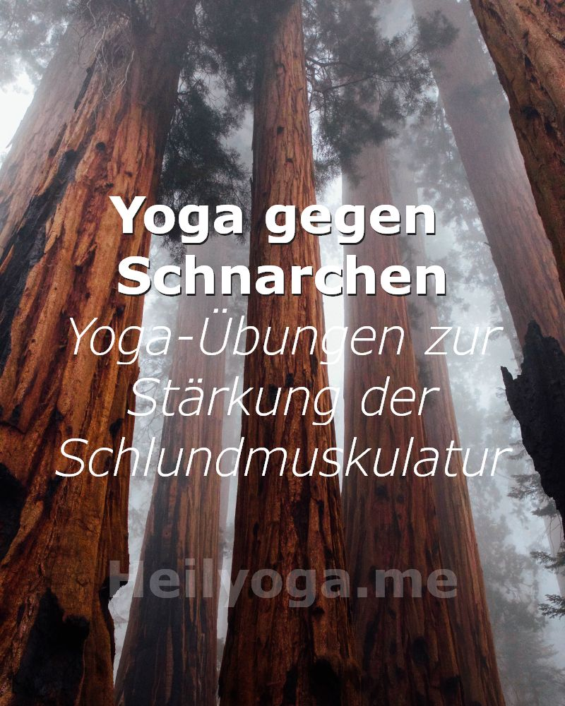 Schlafapnoe-Yoga zur Stärkung der Schlundmuskulatur