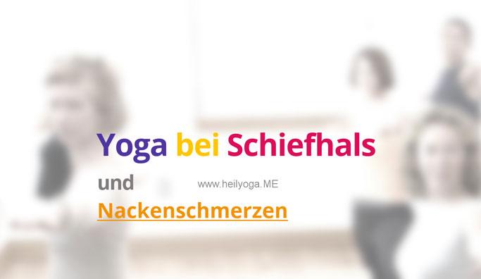 Meditation bei Schiefhals und Nackenschmerzen
