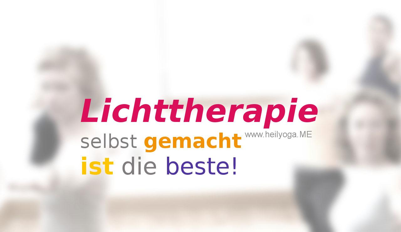 Depressive Verstimmungen – Lichttherapie selbst gemacht ist die beste!