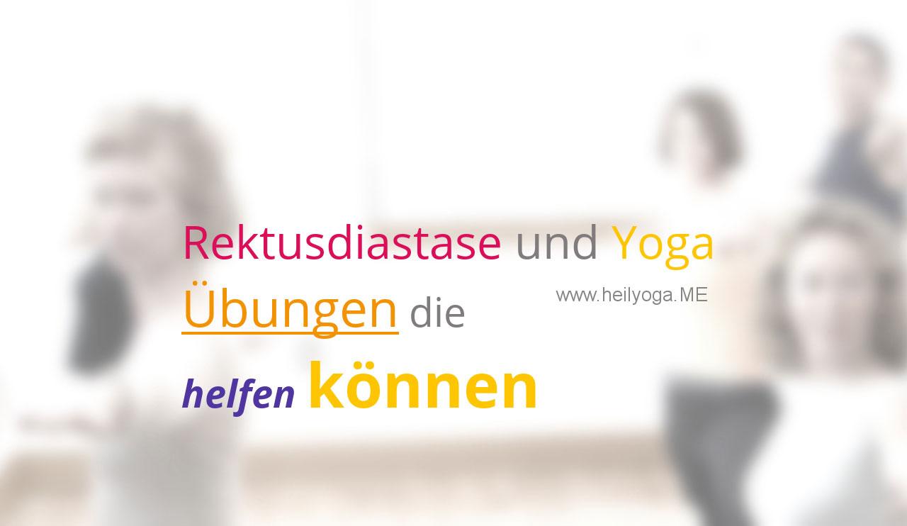 Blähungen, Bauch-OP, Rektusdiastase und Yoga-Übungen die helfen können (Youtube-Video)