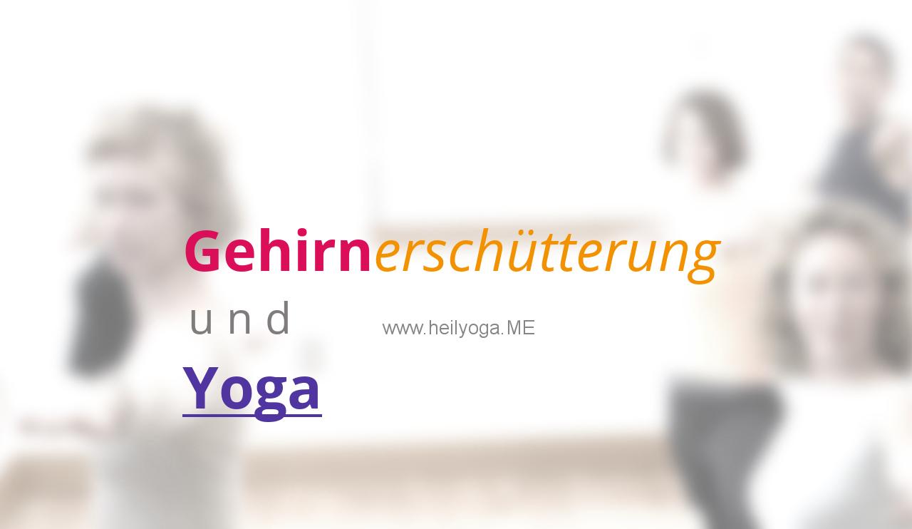 Gehirnerschütterung und Yoga