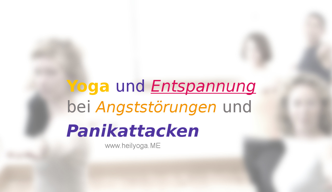Yoga bei Angst