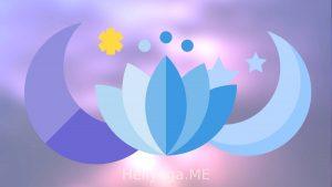 Wasser in den Beinen und Yoga-Übungen Mondmeditation