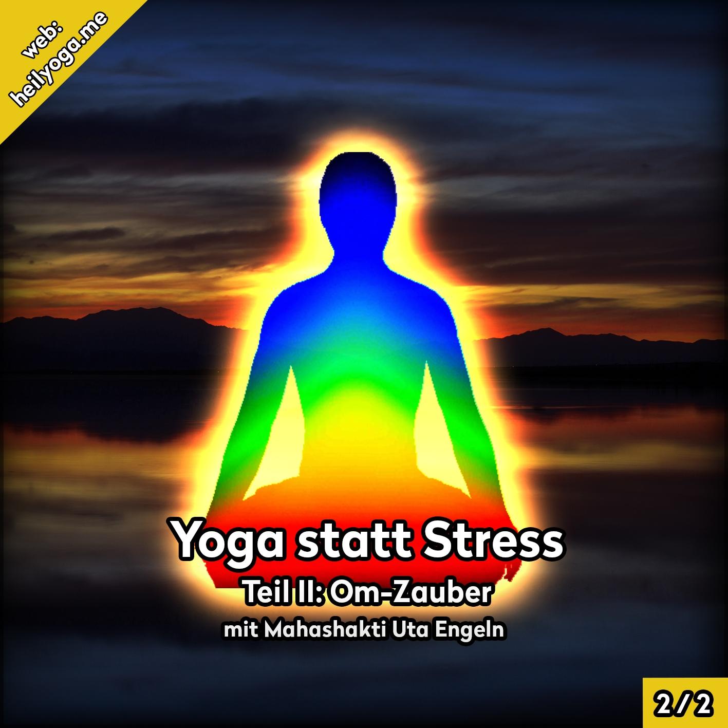 Stress abbauen mit Yoga