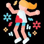 Schmerzende Füße durch Tanzen