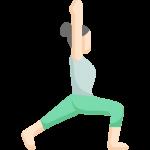 Yoga Heldenstellung Virabhadrasana