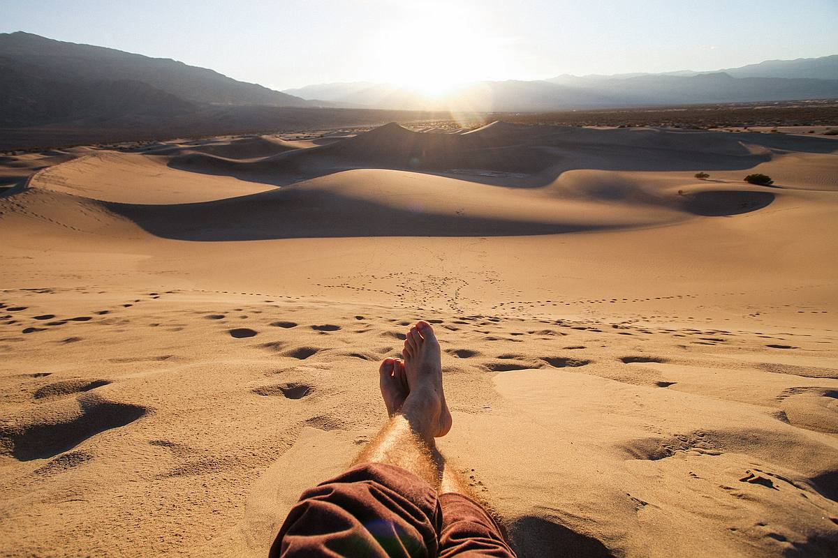 Eine starke Fußmuskulatur trägt dich überall hin, schwache Fußmuskeln nur bis ins Bett.