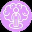 Icon Selbstbewusstsein