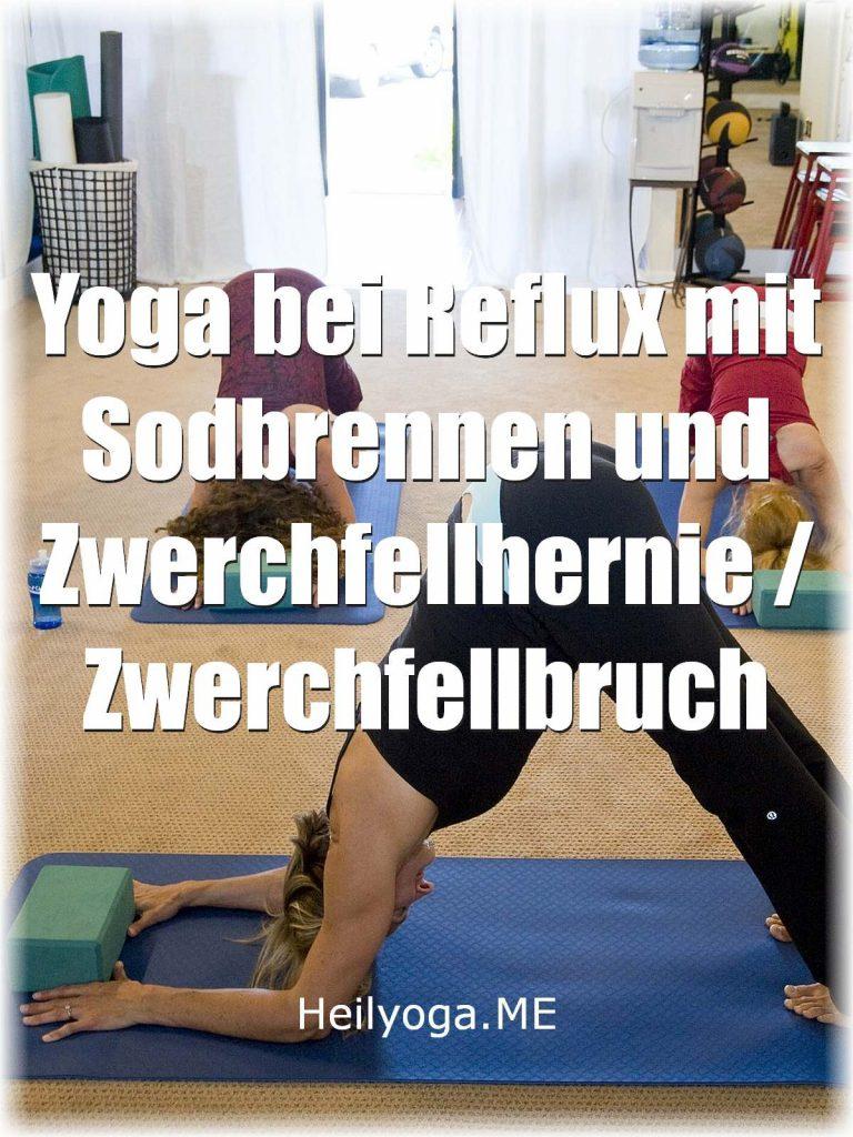 Yoga bei Reflux - Übungen