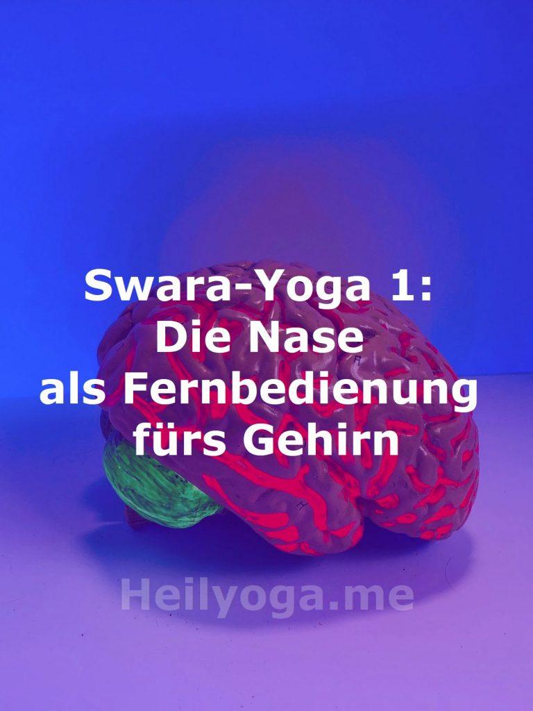 Swara-Yoga: Die Nase als Fernbedienung fürs Gehirn