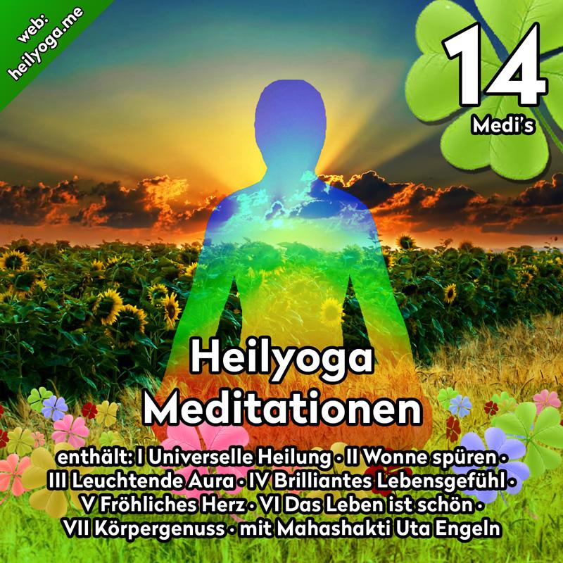 Heilyoga Meditationen alle 7 CDs als Set
