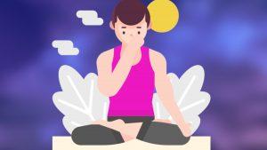 Swara-Yoga beendet Kopfschmerzen Schulter-Nacken und Asthma mit deiner Nase