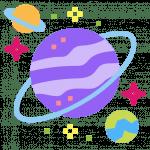 Raum-Weltraum-Planet