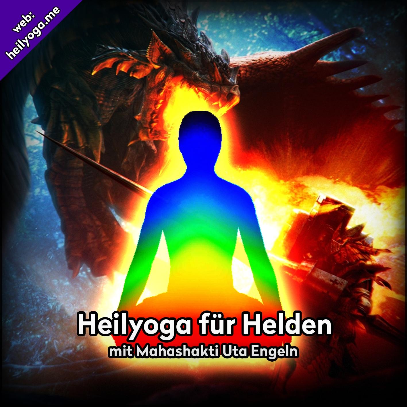 Cover Yoga für Helden