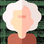 Alte Menschen die Atemübungen machen sind gesünder
