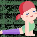 Brustöffnende sanfte Asanas sind zentral bei Asthma-Yoga