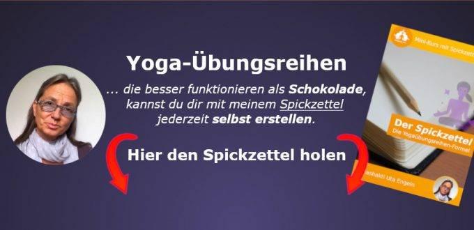 Yoga-Übungsreihen für etwas selbst erstellen mit dieser Anleitung (PDF)